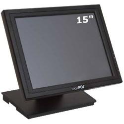 TFT TACTIL 15 MAXPOS LCD NEGRO USB SOPORTE METAL