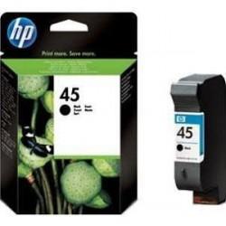 HP 45 Cartucho de tinta - Paquete de 1 Negro