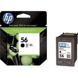 HP 56 56 Cartucho de tinta - Paquete de 1 Negro