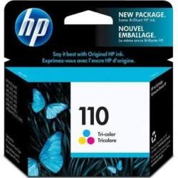 HP110 Cartucho de tinta - Paquete de 1 Color (cian, magenta, amarillo)