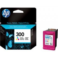 HP 300 Cartucho de tinta - Paquete de 1 Color (cian, magenta, amarillo)