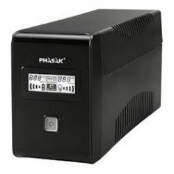 SAI PHASAK 650VA LCD+RJ PH9465