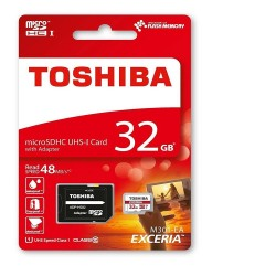 MICRO SD TOSHIBA 32GB  CLASE 10