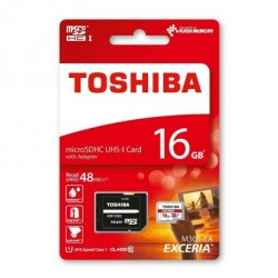 MICRO SD TOSHIBA 16GB CLASE 10