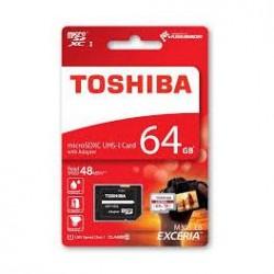 MICRO SDXC TOSHIBA 64GB CL10