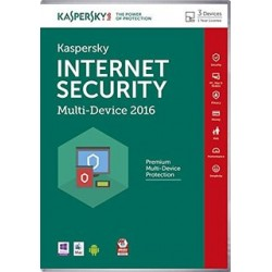 KASPERSKY 2016 INTERNET SEKURITY 3 PCS