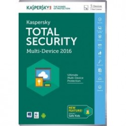 KASPERSKY TOTAL SECURITY 2016 5 USUARIOS